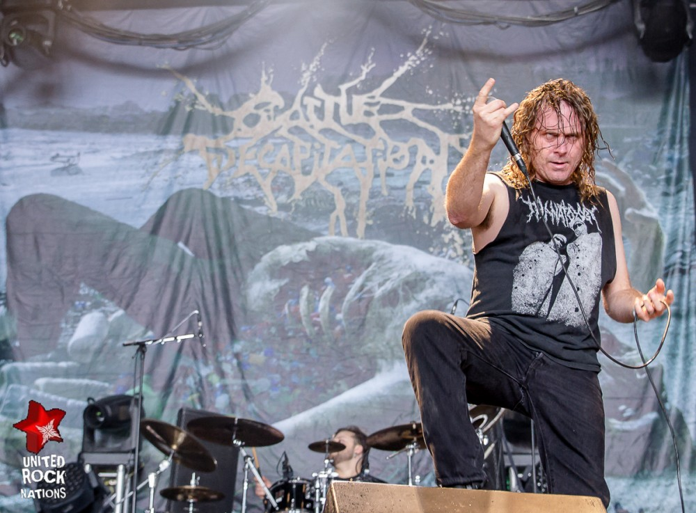 CATTLE DECAPITATION, live Hellfest 2016