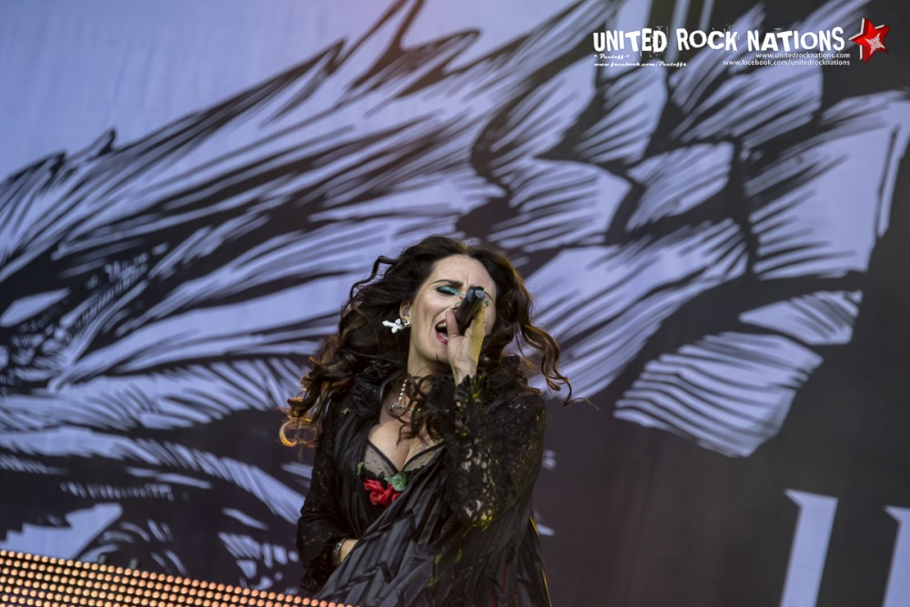 WITHIN TEMPTATION, live Hellfest 2016