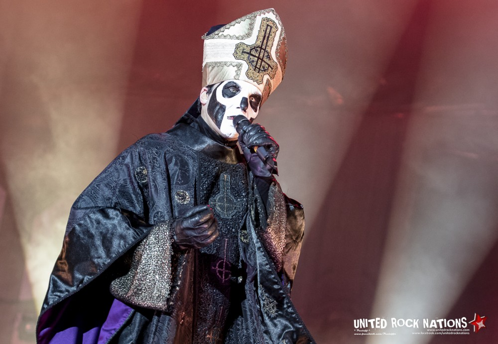 GHOST, live Hellfest 2016