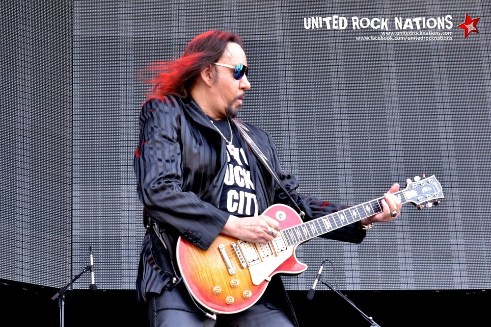 ACE FREHLEY, Hellfest 2015