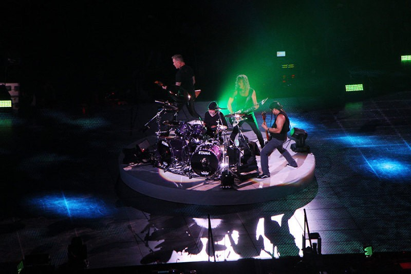 Report - Metallica au Royal Arena de Copenhague le 07/02/2017