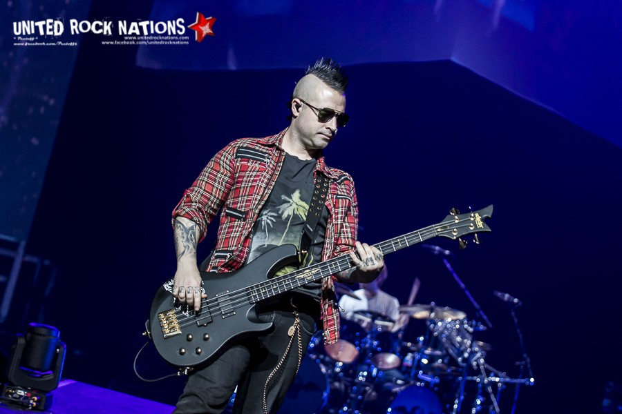 Report/Portfolio AVENGED SEVENFOLD @ AccorHotels Arena le 02/03/2017.