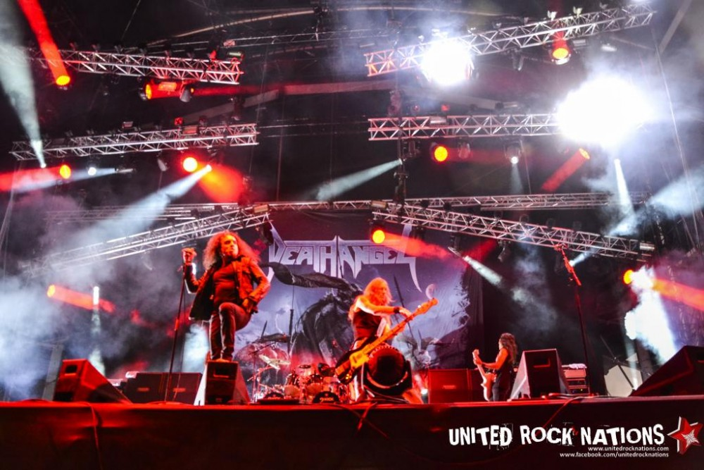 DEATH ANGEL Hellfest 2014