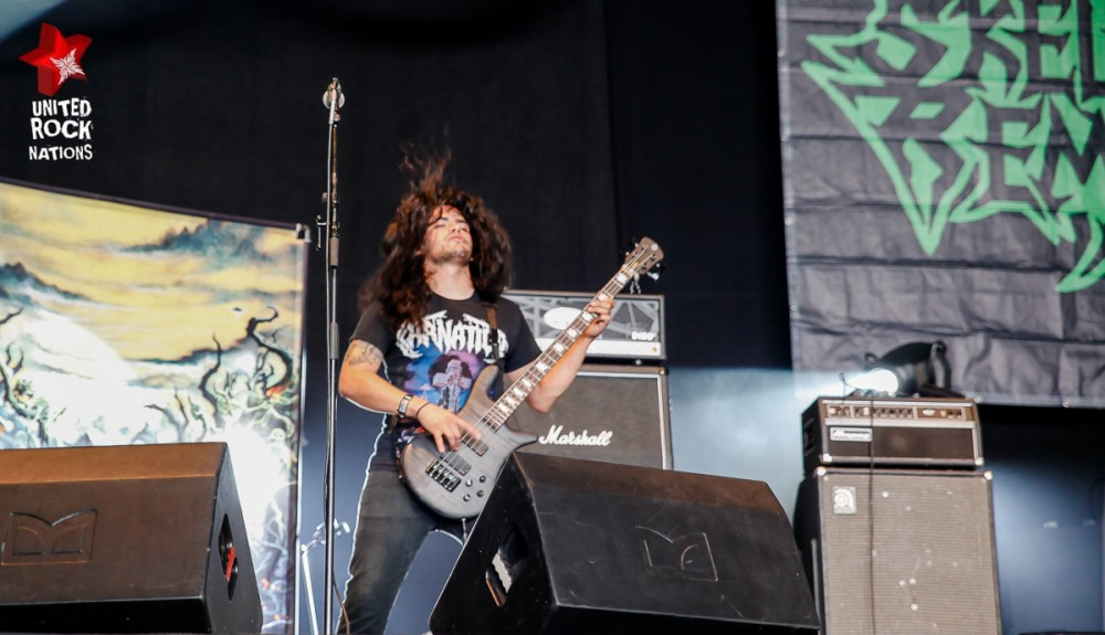 SKELETAL REMAINS, live Hellfest 2016