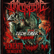 Archspire, Beneath The Massacre, Vulvodynia & Inferi @ Paris
