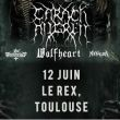 Carach Angren/Wolfheart/Thy Antichrist/Nevalra | Le Rex Toulouse