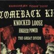 Comeback Kid / Knocked Loose / Higher Power + The Great Divide
