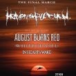 HEAVEN SHALL BURN + AUGUST BURNS RED + GUESTS