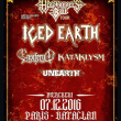 ICED EARTH / ENSIFERUM / KATAKLYSM / UNEARTH