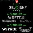 SKULL CRUSH IV WARM UP / WRETCH + ELVENPATH + ELVENSTORM