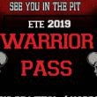 WARRIOR PASS SEE YOU IN THE PIT 9