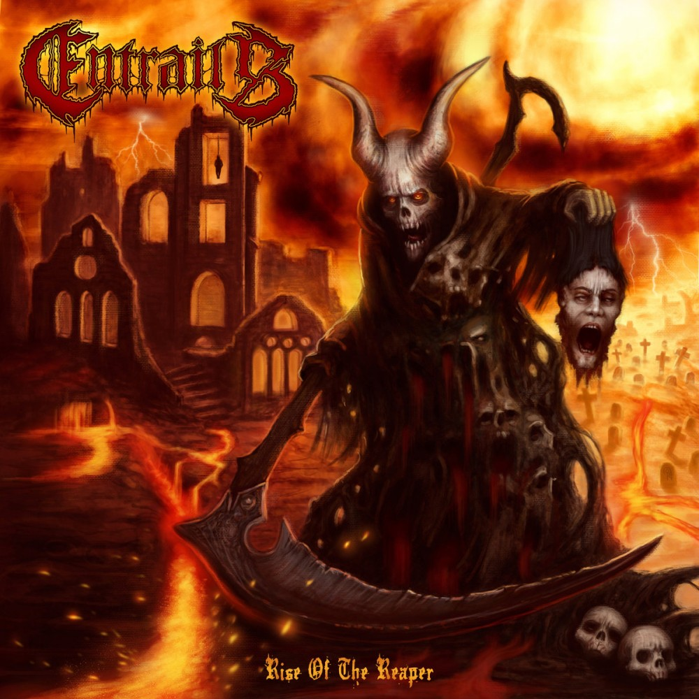 Album Rise of the Reaper par ENTRAILS