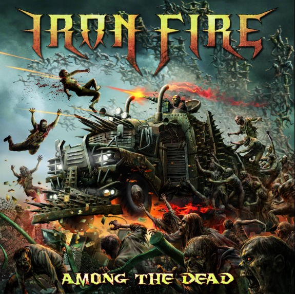Album Among The Dead par IRON FIRE
