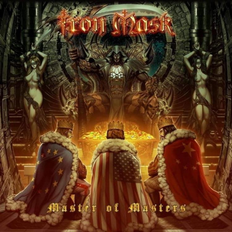 Album Master Of Masters par IRON MASK