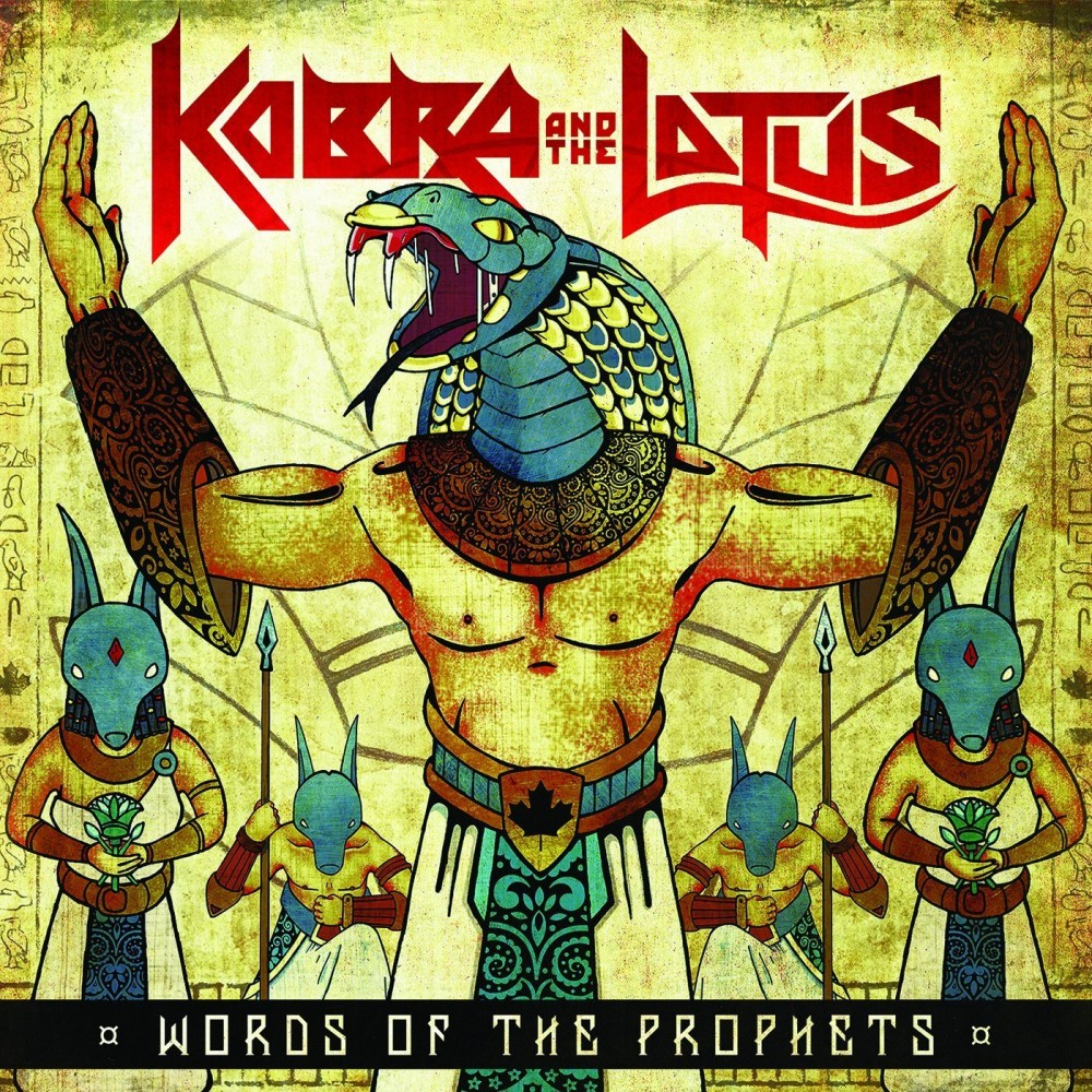 Album Words of the Profets par KOBRA AND THE LOTUS