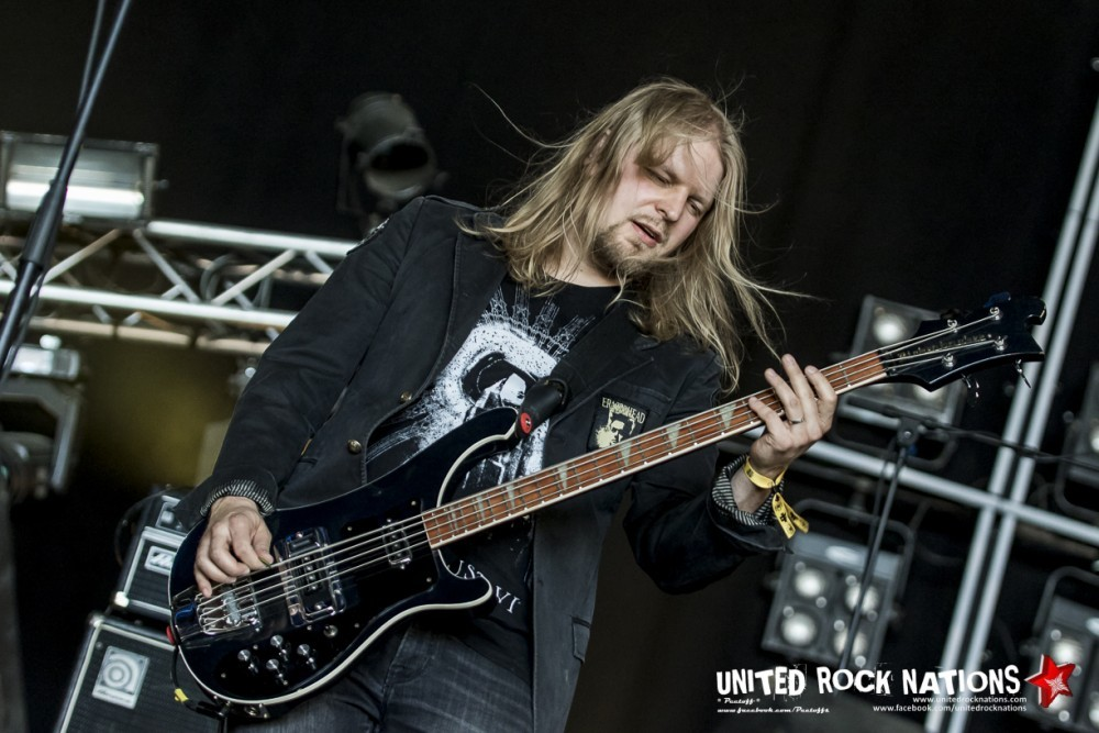 Interview de Jun-His et Ikon de ORANSSI PAZUZU au Hellfest 2018