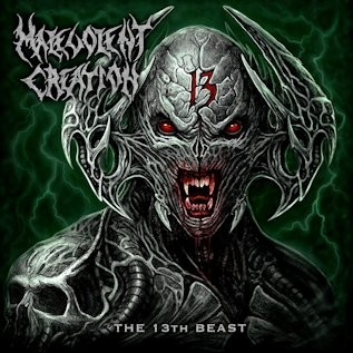 Album The 13th Beast par MALEVOLENT CREATION