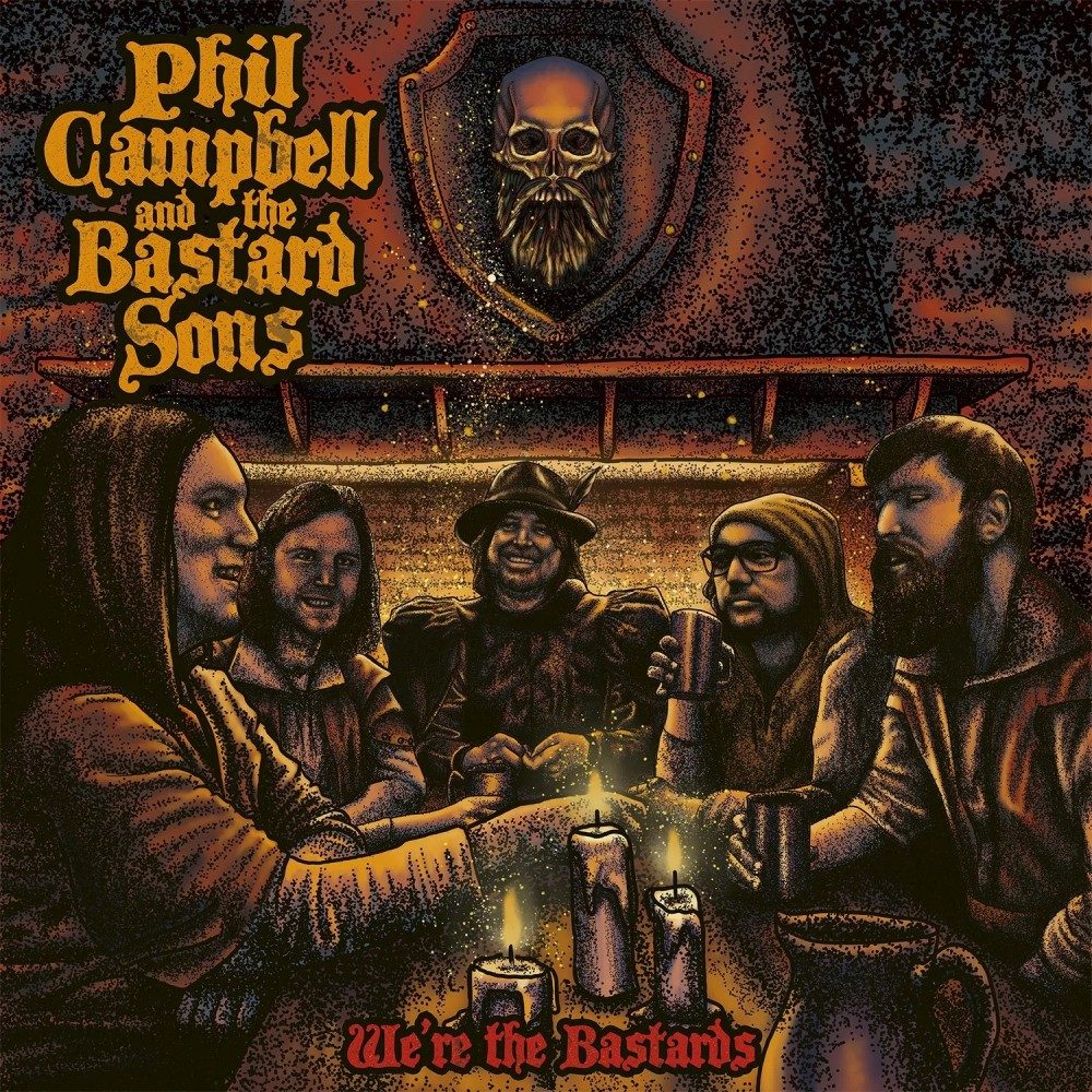 Album We're The Bastards par PHIL CAMPBELL AND THE BASTARD SONS