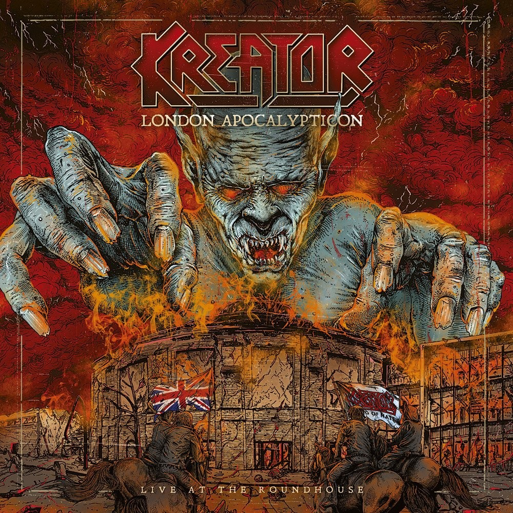 Album London Apocalypticon par KREATOR