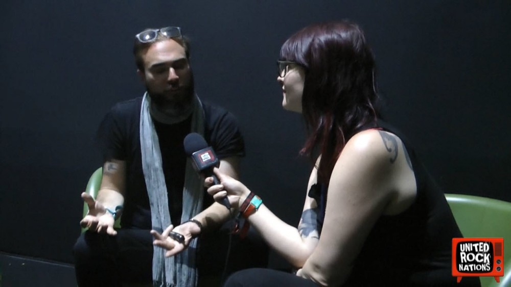 Interview de Benjamin Guerry de THE GREAT OLD ONES au Hellfest 2018