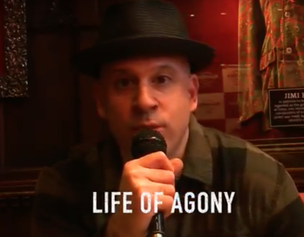 LIFE OF AGONY, l'interview promo de ''A PLACE WHERE THERE'S NO MORE PAIN''