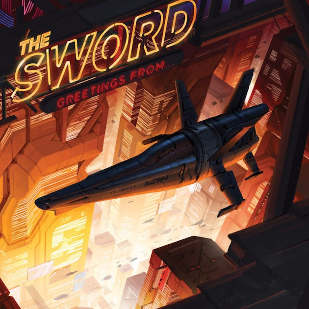 Album Gettings From... par THE SWORD