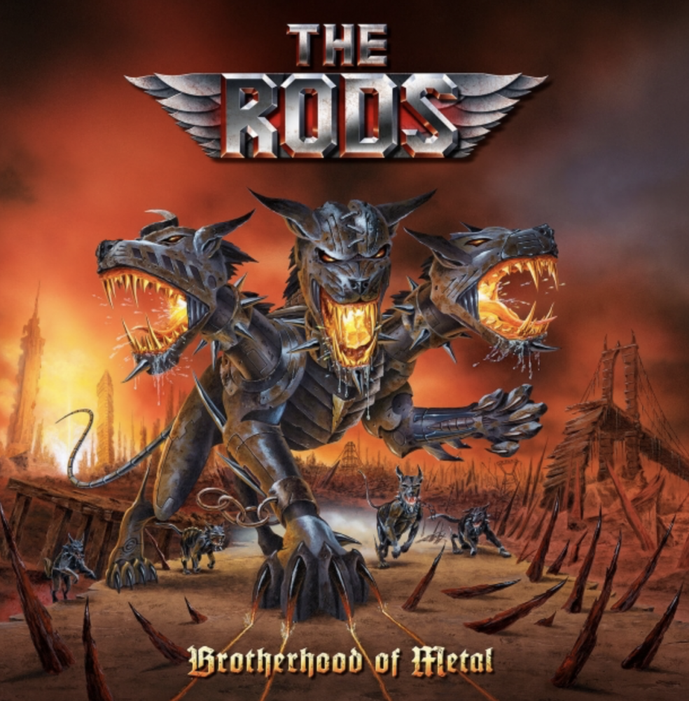 Album Brotherhood of Metal par THE RODS