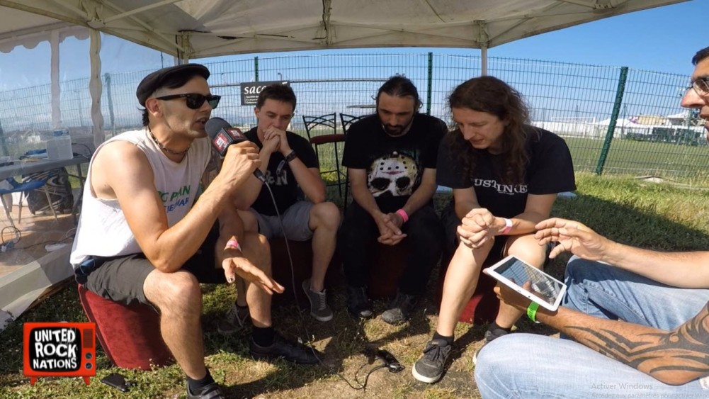 Off Stage with ULTRA VOMIT au Festival Nuits Carrées 2018