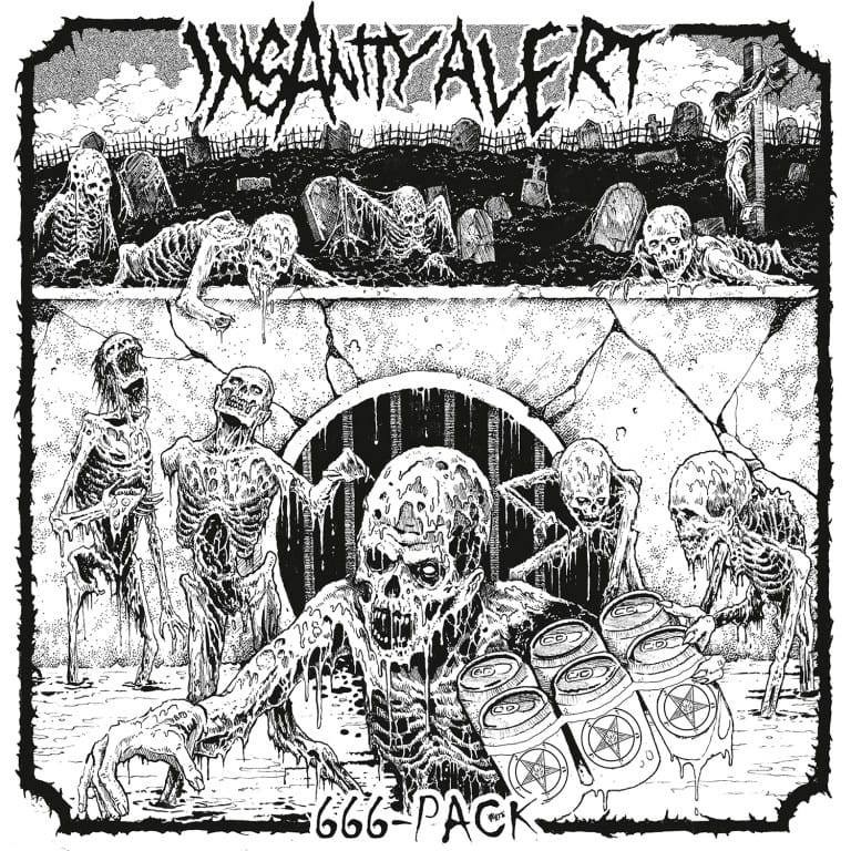Album 666-Pack par INSANITY ALERT