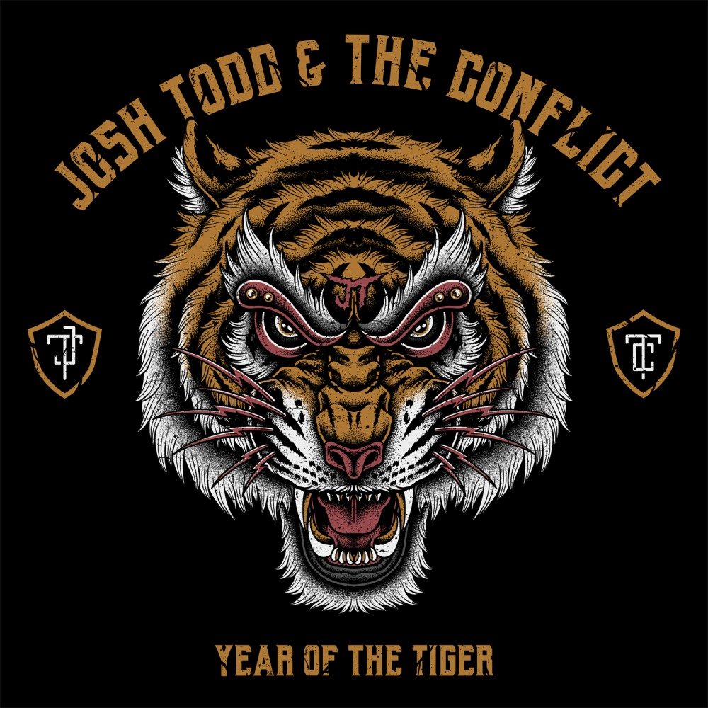 Album Year of the tiger par JOSH TODD & THE CONFLICT