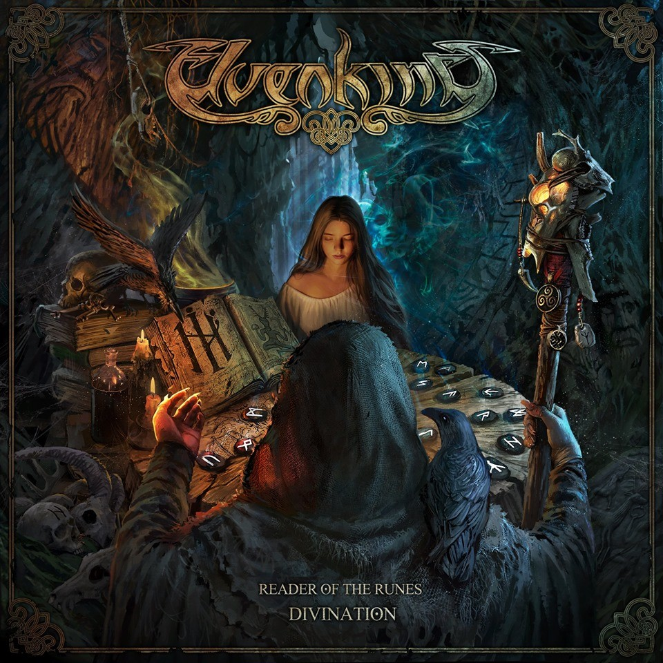 Album Reader Of The Runes - Divination par ELVENKING