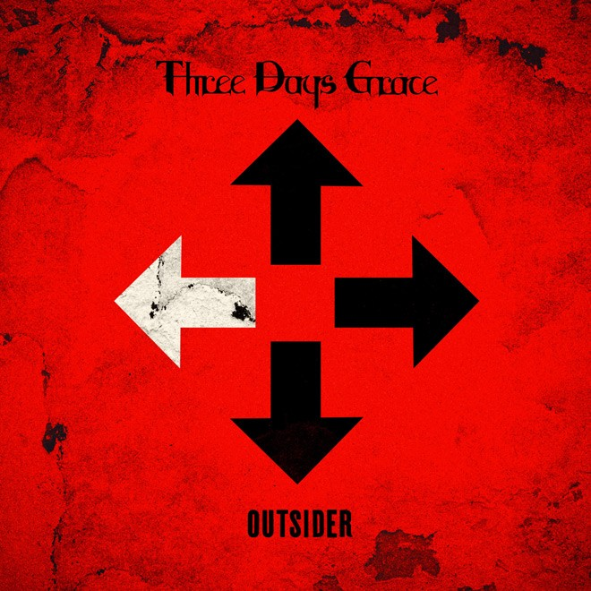 Album Outsider par THREE DAYS GRACE