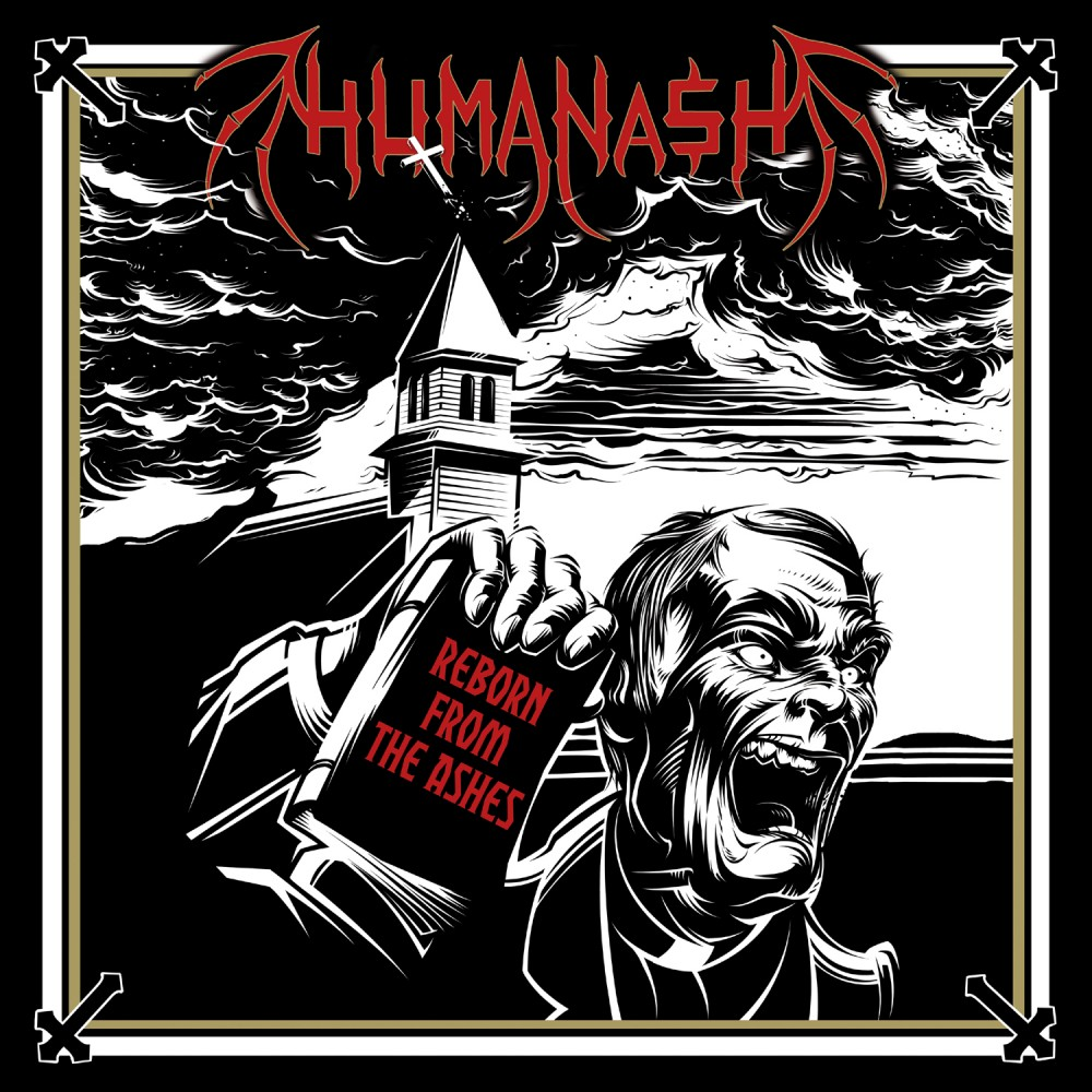 Album Reborn From The Ashes par HUMANASH