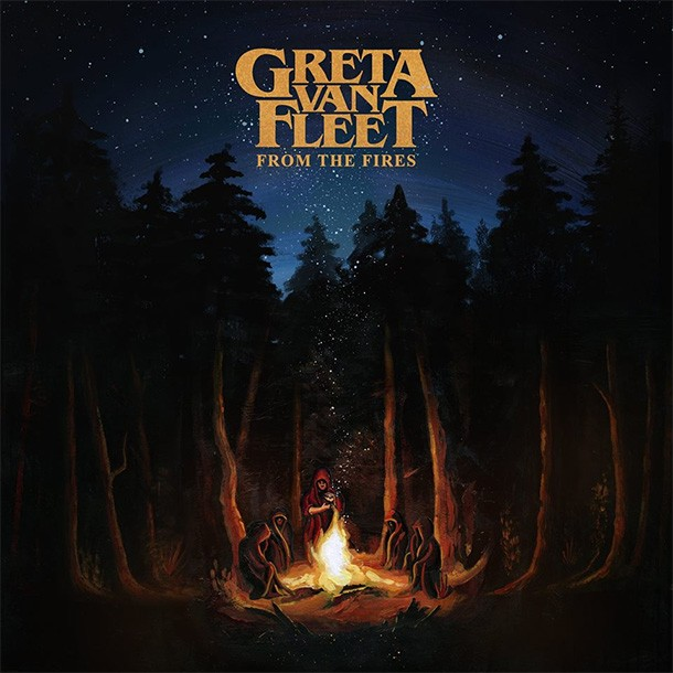 Album From The Fires par GRETA VAN FLEET