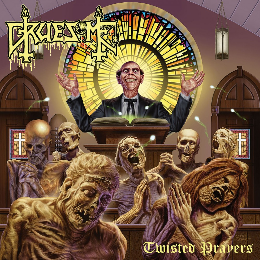 GRUESOME, l'interview promo de ''Twisted Prayers''