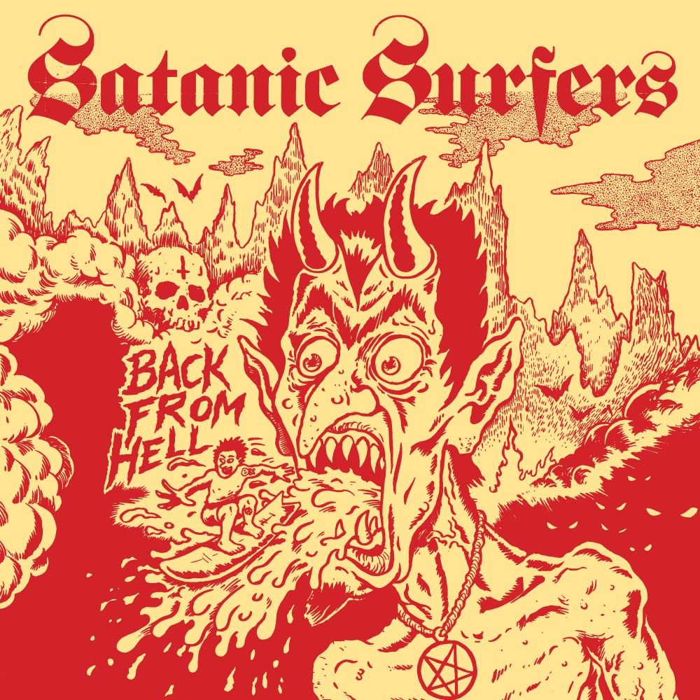 Album Back From Hell par SATANIC SURFERS