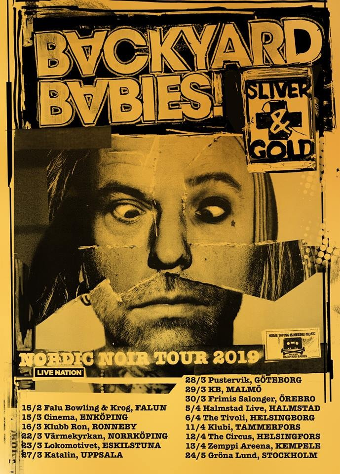 BACKYARD BABIES, interview promo de ''Sliver and Gold''