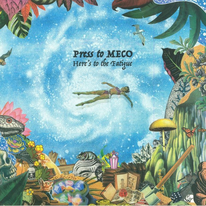 PRESS TO MECO, interview promo de ''Here's To The Fatigue''