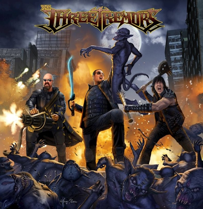 Album The Three Tremors  par THE THREE TREMORS