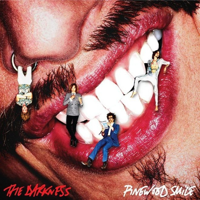 Album Pinewood smile par THE DARKNESS