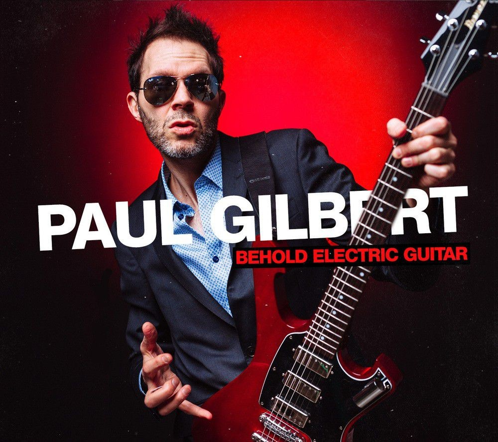 Album Behold Electric Guitar par PAUL GILBERT