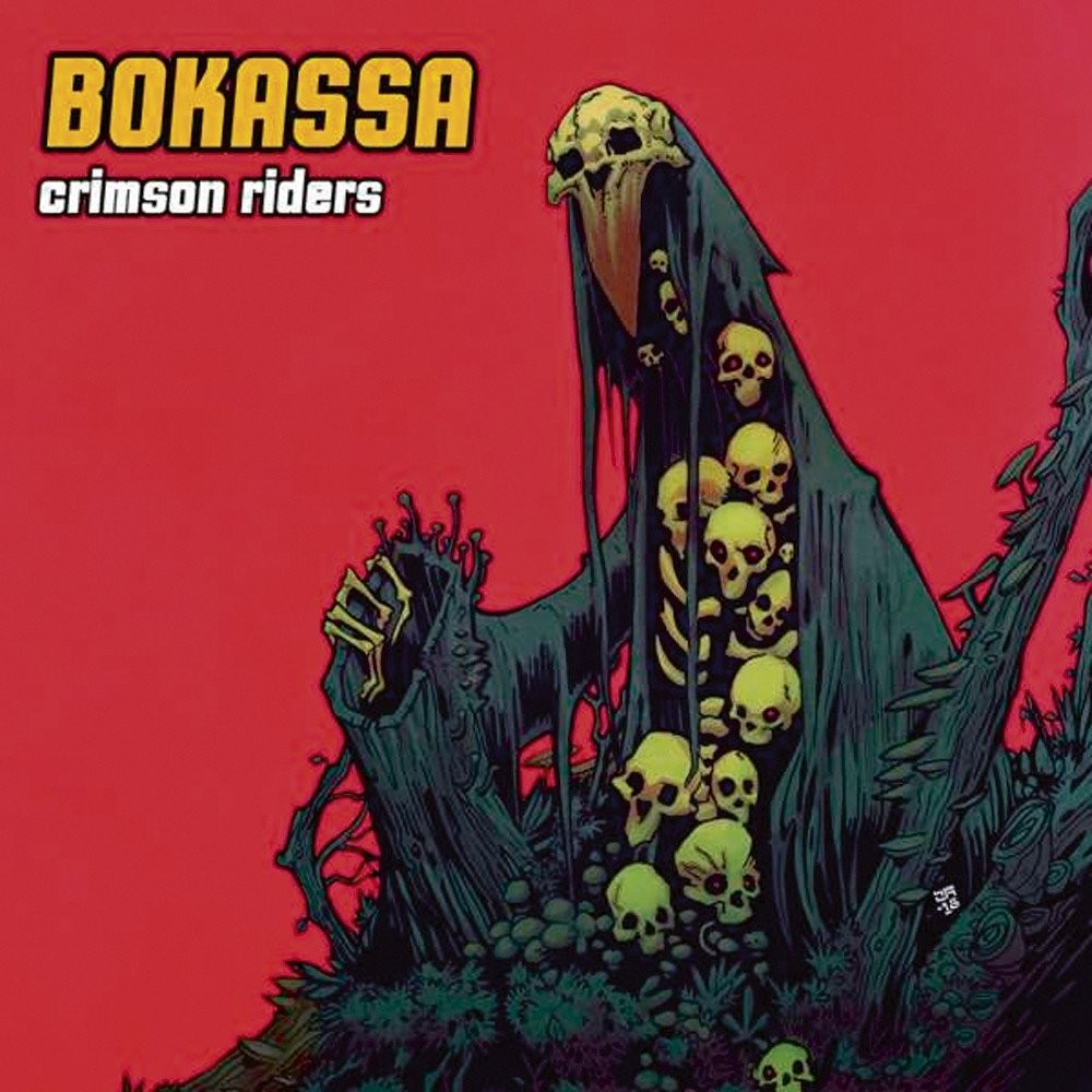 Album Crimson Riders par BOKASSA