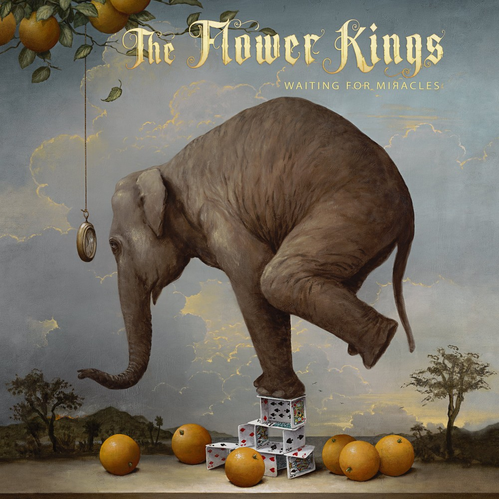 Album Waiting for Miracle  par THE FLOWER KINGS