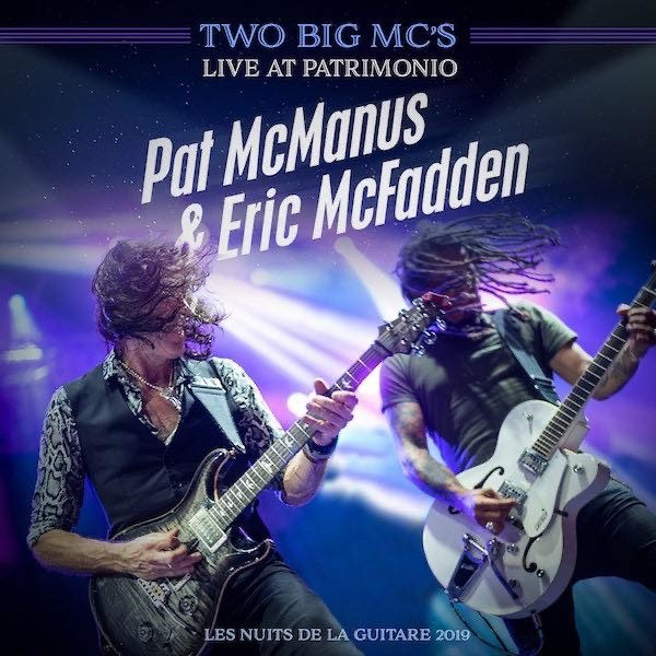 Album Two Big Mc's Live At Patrimonio par PAT MCMANUS ET ERIC MCFADDEN