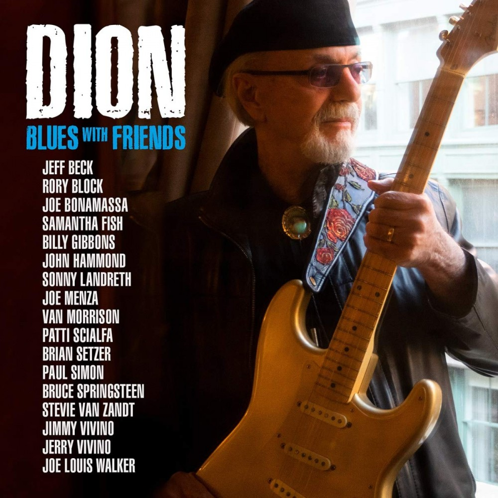 Album Blues with Friends par DION