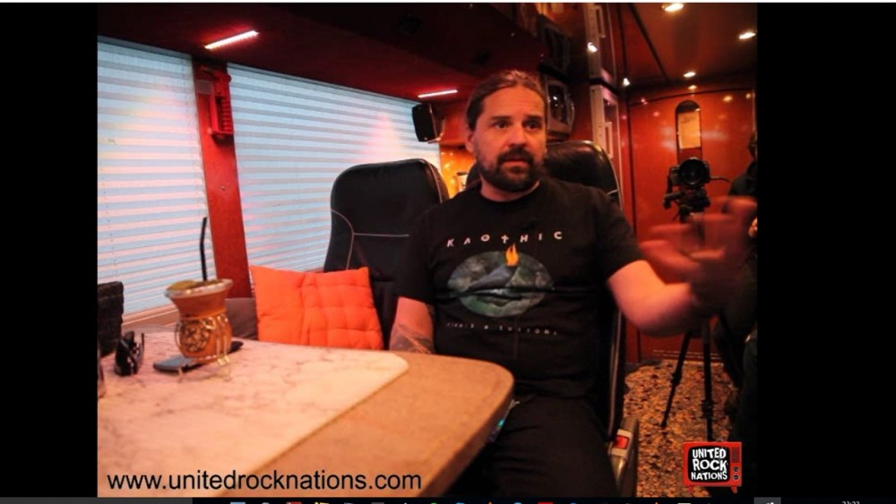 SEPULTURA, l'interview video d'Andreas Kisser (Machine Messiah Tour)