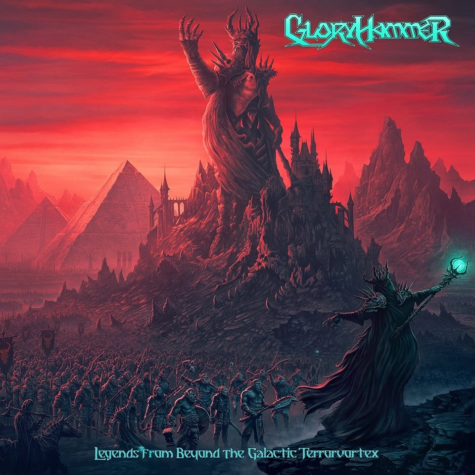 Album Legends From Beyond The Galactic Terrorvortex par GLORYHAMMER