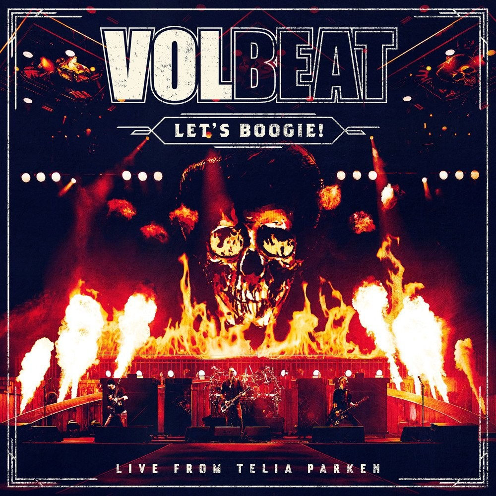 Album Let's Boogie Live from Telia Parken par VOLBEAT