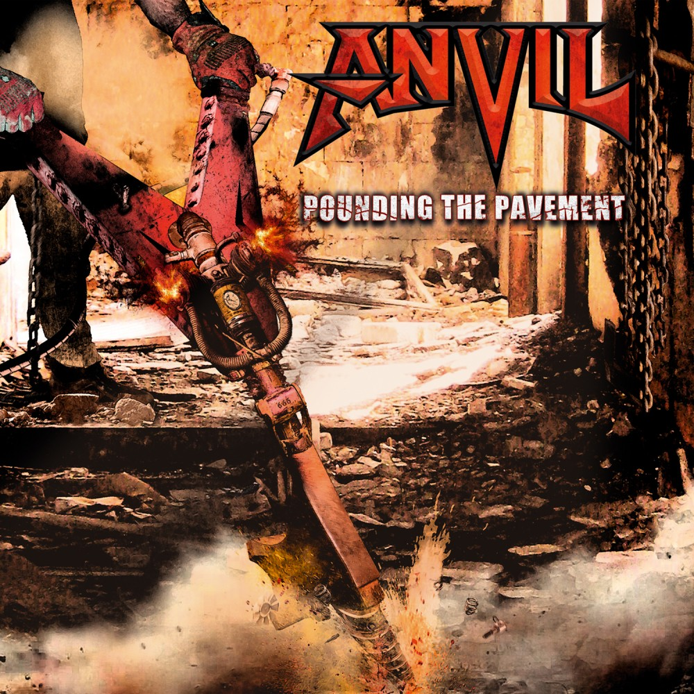 Album Pounding The Pavement par ANVIL