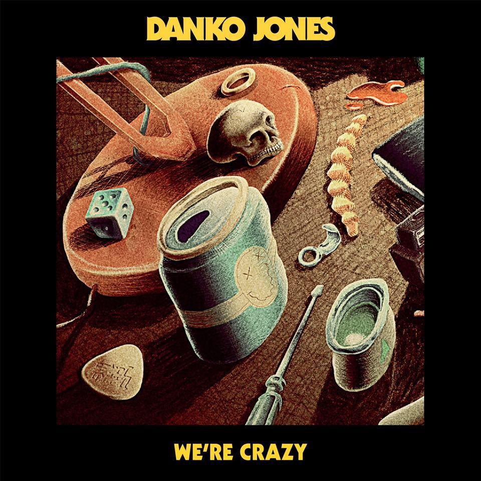 DANKO JONES, interview promo pour l'album ''We're Crazy''